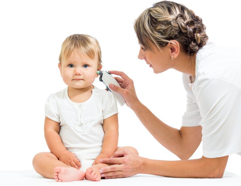 doof oor na verkoudheid